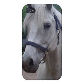 Caso de Iphone 4 del caballo blanco iPhone 4 Cárcasa