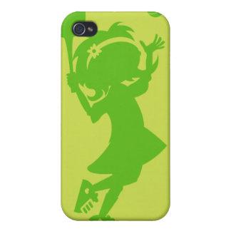 Caso de Iphone 4 del chica del tenis iPhone 4 Cárcasa