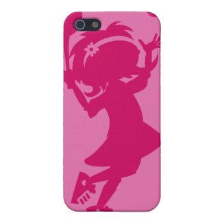Caso de Iphone 4 del chica del tenis iPhone 5 Cobertura