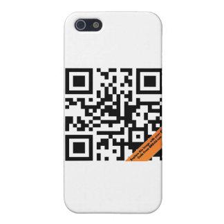 Caso de IPhone 4 del código de QR iPhone 5 Carcasas