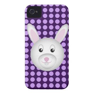 Caso de Iphone 4 del conejo de conejito iPhone 4 Protectores