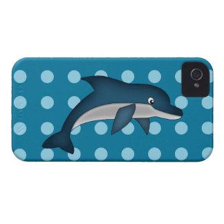 Caso de Iphone 4 del delfín iPhone 4 Case-Mate Fundas
