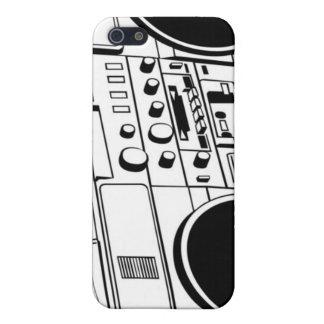 Caso de Iphone 4 del equipo estéreo portátil de la iPhone 5 Carcasas