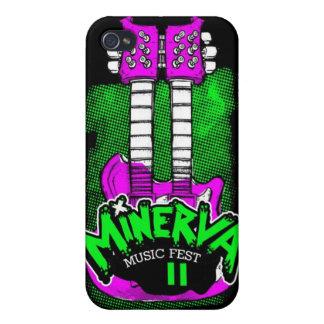 Caso de Iphone 4 del Fest 2 de Minerva iPhone 4 Carcasas