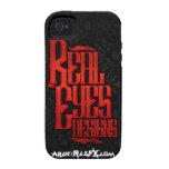 Caso de IPhone 4 del logotipo de Arek - de RealEye Vibe iPhone 4 Funda