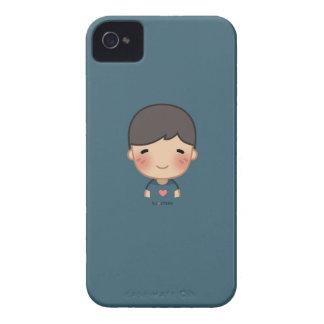 Caso de Iphone 4 del muchacho de la HJ-Historia iPhone 4 Case-Mate Cárcasas