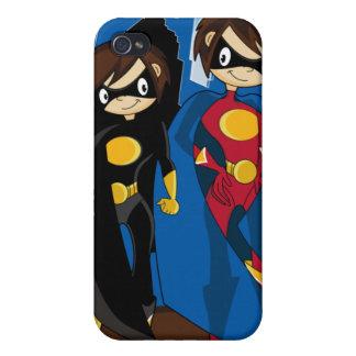 Caso de Iphone 4 del super héroe de Caped iPhone 4 Cárcasa