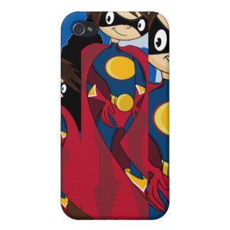 Caso de Iphone 4 del super héroe de Caped iPhone 4 Cobertura