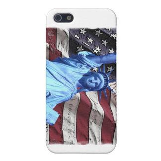Caso de IPhone 4 Verizon:  Bandera iPhone 5 Protector