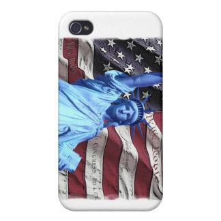 Caso de IPhone 4 Verizon:  Bandera iPhone 4 Fundas