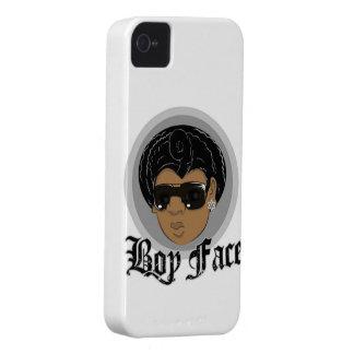 Caso de Iphone 4s de la CARA del MUCHACHO Carcasa Para iPhone 4