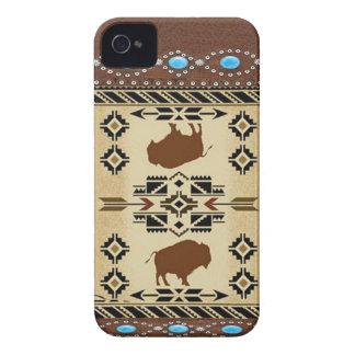 Caso de IPhone 4S del nativo americano del Case-Mate iPhone 4 Coberturas