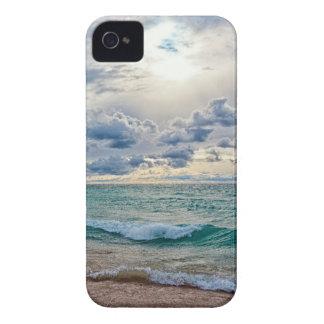 Caso de Iphone 4S del paisaje marino iPhone 4 Case-Mate Carcasa