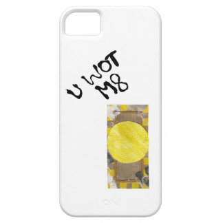 Caso de IPhone 5/5s del botón de puerta iPhone 5 Funda