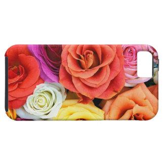 Caso de IPhone 5/5s - huela los rosas Funda Para iPhone 5 Tough