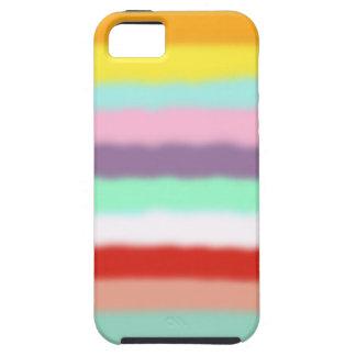 Caso de Iphone 5 - arco iris unido de los colores Funda Para iPhone SE/5/5s
