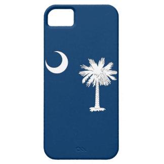 Caso de IPhone 5 con la bandera de Carolina del Su iPhone 5 Case-Mate Cárcasas