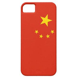 Caso de IPhone 5 con la bandera de China iPhone 5 Case-Mate Coberturas