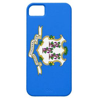 Caso de IPhone 5 con la bandera de Connecticut Funda Para iPhone SE/5/5s