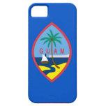 Caso de IPhone 5 con la bandera de Guam iPhone 5 Protectores