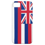Caso de IPhone 5 con la bandera de Hawaii iPhone 5 Case-Mate Carcasas