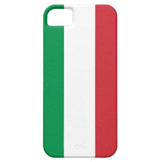 Caso de IPhone 5 con la bandera de Italia iPhone 5 Case-Mate Fundas