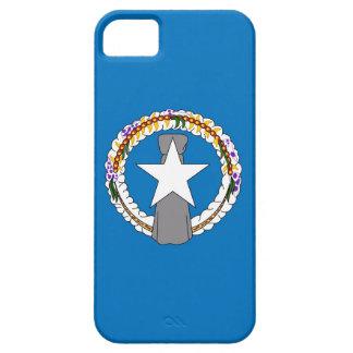 Caso de IPhone 5 con la bandera de Mariana Island iPhone 5 Funda