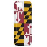 Caso de IPhone 5 con la bandera de Maryland Funda Para iPhone SE/5/5s