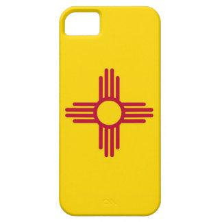 Caso de IPhone 5 con la bandera de New México iPhone 5 Protectores