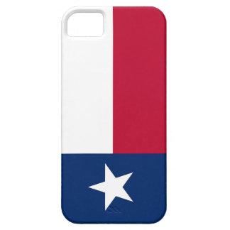 Caso de IPhone 5 con la bandera de Tejas iPhone 5 Carcasas