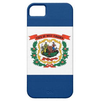 Caso de IPhone 5 con la bandera de Virginia iPhone 5 Fundas
