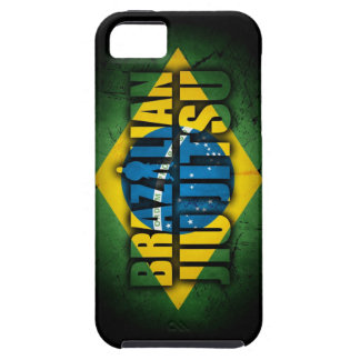 Caso de Iphone 5 de la bandera de Jiu Jitsu del br iPhone 5 Case-Mate Carcasa