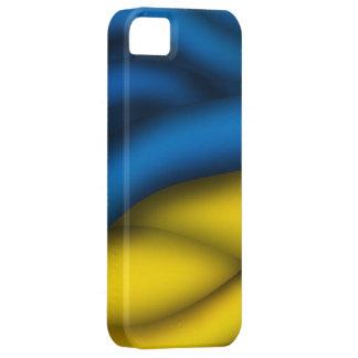 Caso de Iphone 5 de la bandera de Ucrania iPhone 5 Case-Mate Fundas