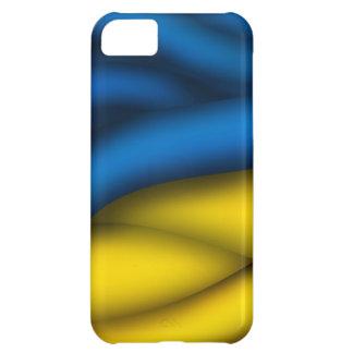 Caso de Iphone 5 de la bandera de Ucrania