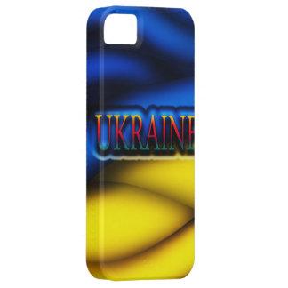 Caso de Iphone 5 de la bandera de Ucrania iPhone 5 Case-Mate Carcasas