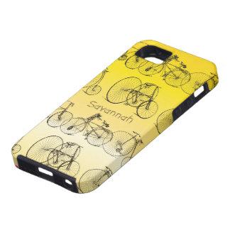 Caso de Iphone 5 de la bici del Birdcage de los pá iPhone 5 Case-Mate Protector