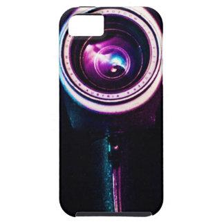 Caso de Iphone 5 de la cámara de vídeo del vintage iPhone 5 Case-Mate Fundas