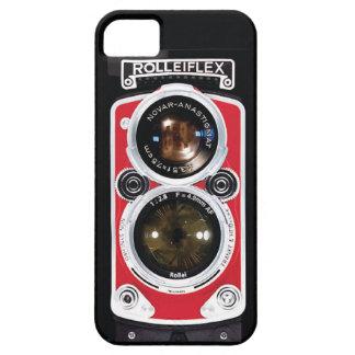Caso de Iphone 5 de la cámara del vintage de Rolle iPhone 5 Case-Mate Fundas