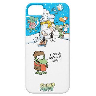 Caso de Iphone 5 de la diversión del invierno del iPhone 5 Fundas