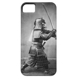 Caso de Iphone 5 de la foto del samurai iPhone 5 Carcasa