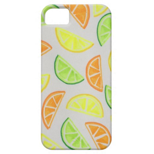 Caso de IPhone 5 de la fruta cítrica iPhone 5 Case-Mate Coberturas