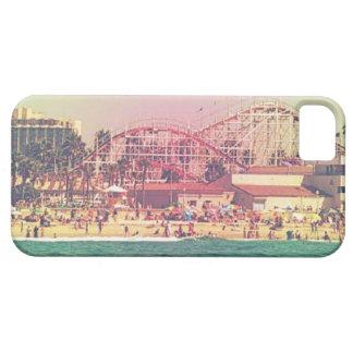Caso de Iphone 5 de la montaña rusa del vintage Funda Para iPhone SE/5/5s