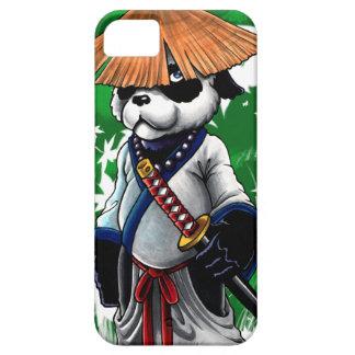 Caso de Iphone 5 de la panda del samurai Funda Para iPhone SE/5/5s