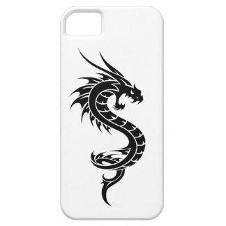 Caso de Iphone 5 de la serpiente del dragón Funda Para iPhone 5 Barely There