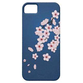 Caso de Iphone 5 de las flores de cerezo que cae Funda Para iPhone SE/5/5s