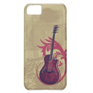 Caso de Iphone 5 del amante de la guitarra