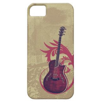 Caso de Iphone 5 del amante de la guitarra iPhone 5 Case-Mate Cobertura