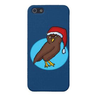 Caso de Iphone 5 del búho del navidad iPhone 5 Carcasa