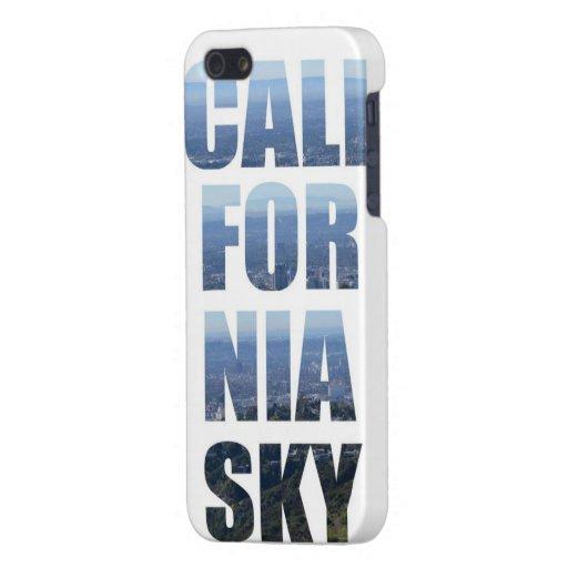Caso de Iphone 5 del cielo de California iPhone 5 Carcasa