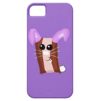 Caso de Iphone 5 del conejito de pascua del tocino iPhone 5 Protectores